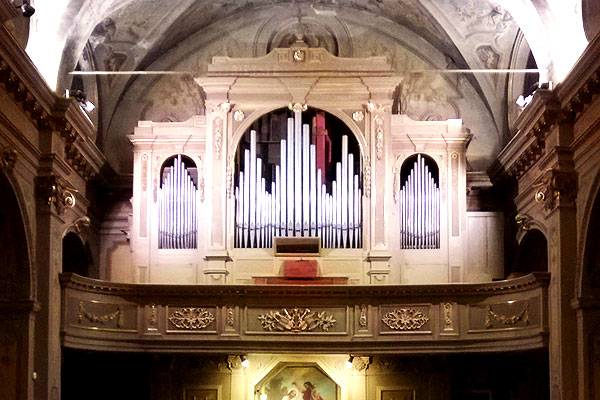 organo SS Cosma e Damiano