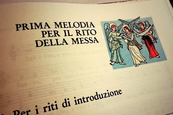 melodia messa